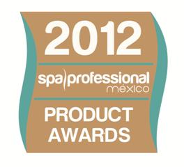 Spa Professional Mexico 2012 Award