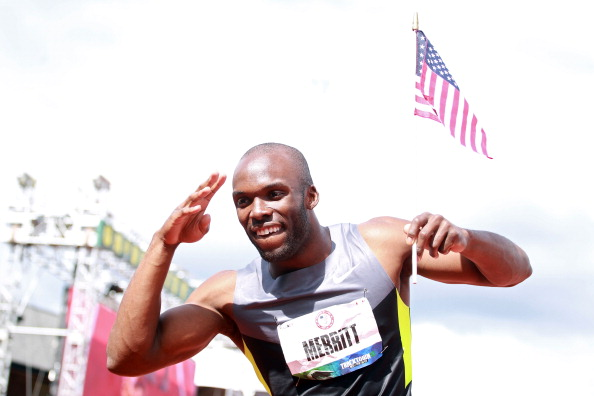 LaShawn Merritt Joins Microsoft for Nike+ Kinect Training and Youth Fitness Day