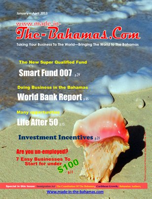 magazine THE BAHAMAS.COM cover