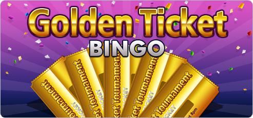 Win a golden ticket in Golden Ticket Bingo