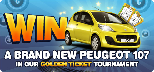 Win a new car at Bingocams