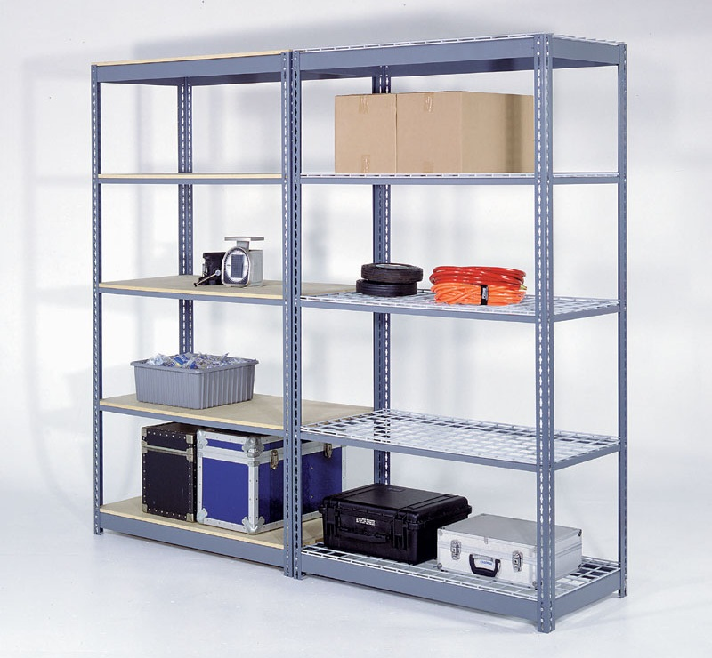 10 discount on shelving racks for storage by justshelfit for Inexpensive shelving