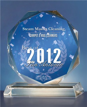 Steam Master Carpet Cleaning San Antonio Award 2012