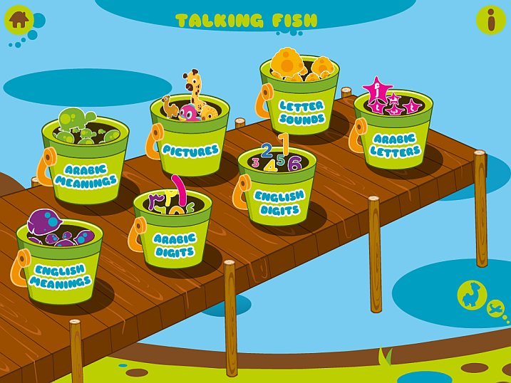 Talking Fish Home Screen