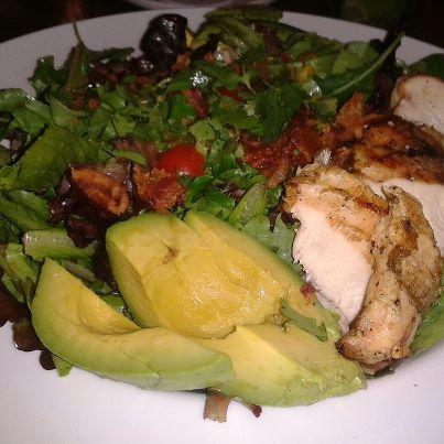 Avacado Salad & Chicken Breast