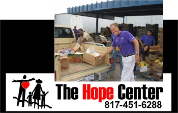 the hope center distributes critical thanksgiving food for