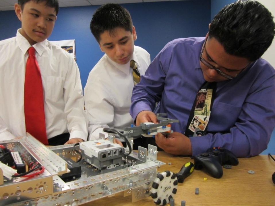 Robotics at Open House