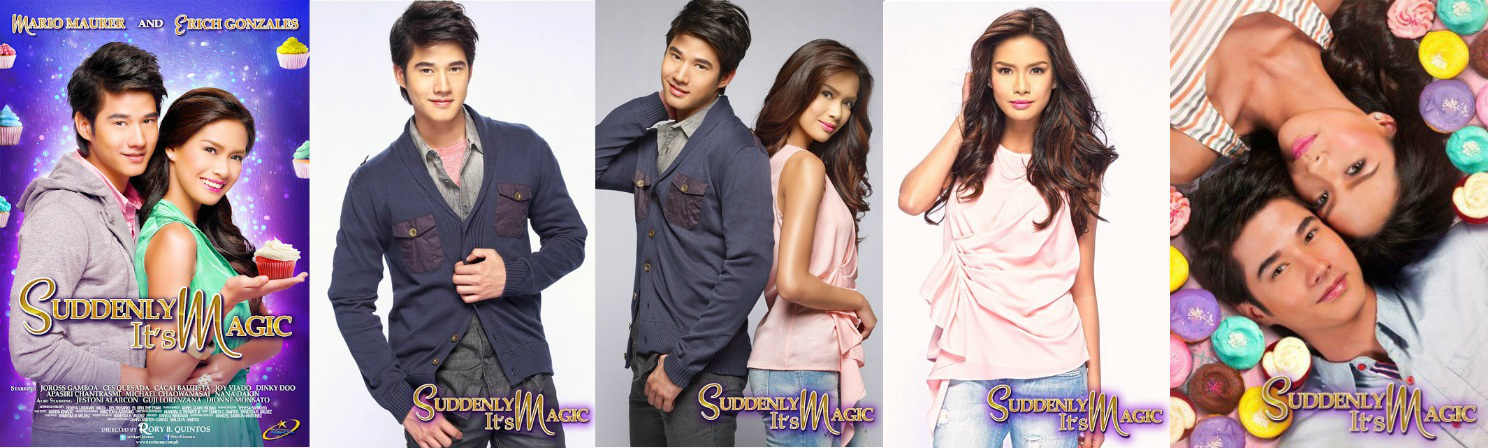 "Mario Maurer-Erich Gonzales team-up win hearts in ""Suddenly It's Magic"""