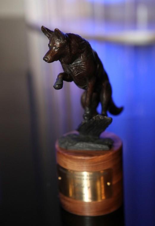 2012 Hero Dog Awards Trophy