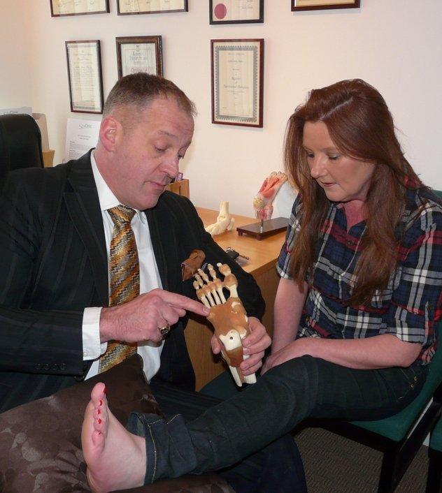 Dr Les Bailey explains the foots function