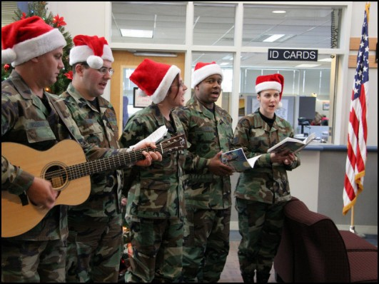 Air Force Carolers