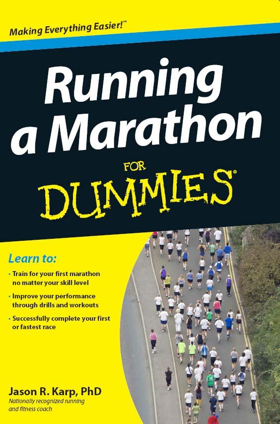 Running a Marathon For Dummies by Dr. Jason Karp