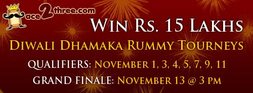 Diwali Rummy Tournaments