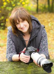 Photographer Lesley Wood.