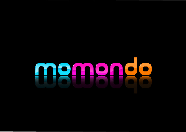 Momondo logo black