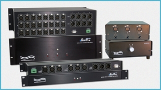XLR Switches for Audio/Video Networks