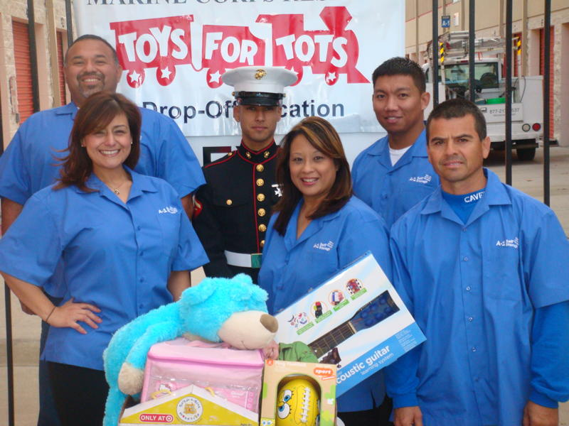 A-1 Self Storage Toys for Tots