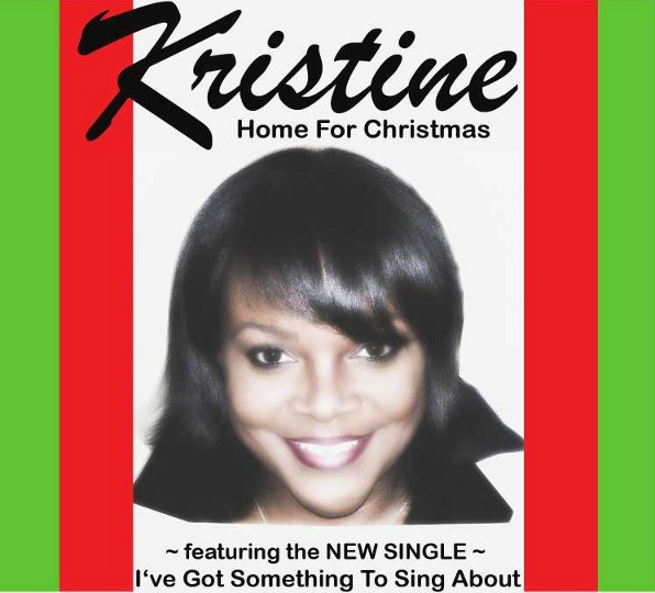Kristine - Home For Christmas CD Cover