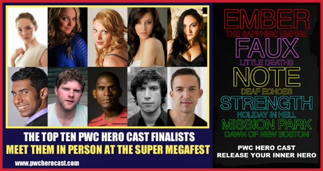 PWC Hero Cast Finalists