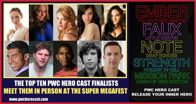 PWC Hero Cast Finalists