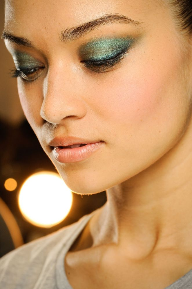 Emerald Eyes at the fall/winter 2012-13 Jason Wu Runway Show. Image: Go Runway