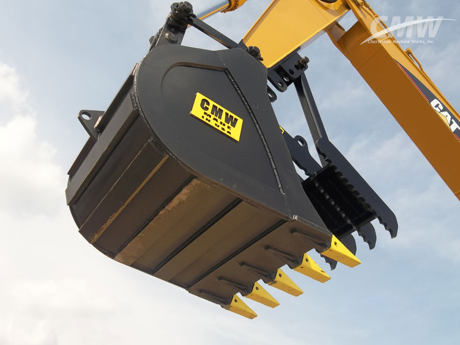 Excavator Bucket : Cmw attachments appoints new dealer in quebec canada