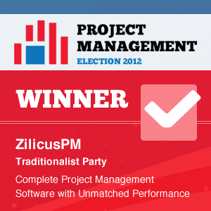 The Winner of Project Management Software Election - ZilicusPM