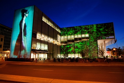 Christie Projectors Wow at Quartier des Spectacles (Photo by Martine Doyon)