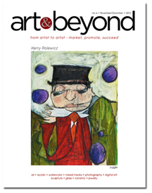 Art & Beyond November/December 2012 Cover