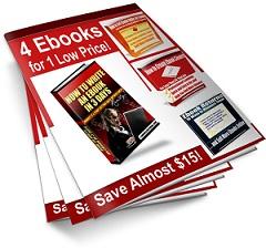 4-in-1 Ebook Self-Publishing Pack
