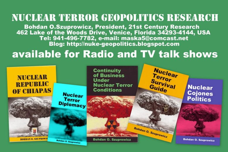 Nuclear Terror Geopolitics Research Projects of 21st Century Research