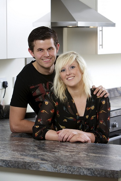 Keeley Dunn and David Frost Use Firsbuy with Miller Homes to purchase their home