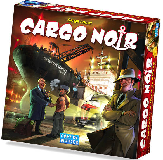 Cargo Noir Best Board Game Winner 2012