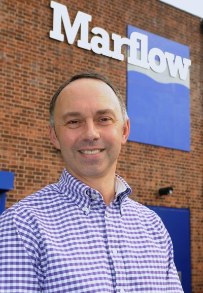 David Gannon, newly appointed Managing Director of Marflow Engineering Ltd