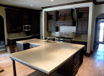 Durable Custom Concrete Counters