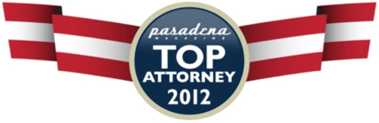 Pasadena Top Attorney 2012