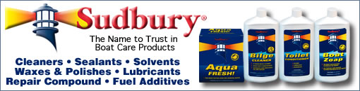 Sudbury Boat Care Products