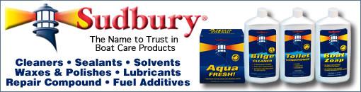 Sudbury Boat Care Products