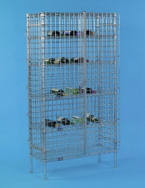 Wire Wine Shelving Racks for Storage Provided by JustShelfit.com