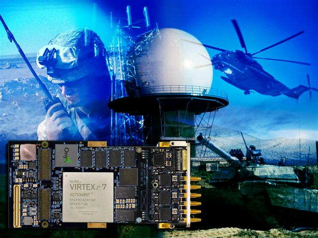 Pentek's Multichannel SDR for Radar, UAV and Communications Applications