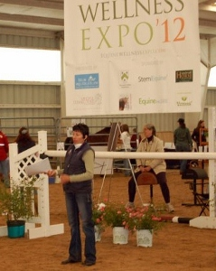 Nan Martin of Experience Essential Oils Speaking at Equine Wellness Expo 2012