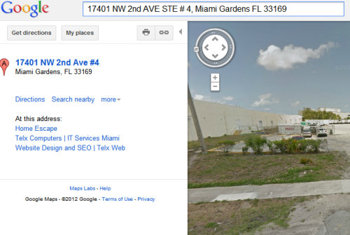 "Is TelxWeb really ""a web design company in Miami""?"