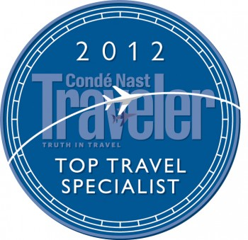CNT Top Travel Specialist for 2012