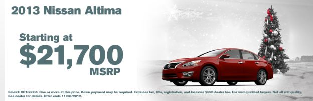 2013 Altima at Nissan of Cookeville