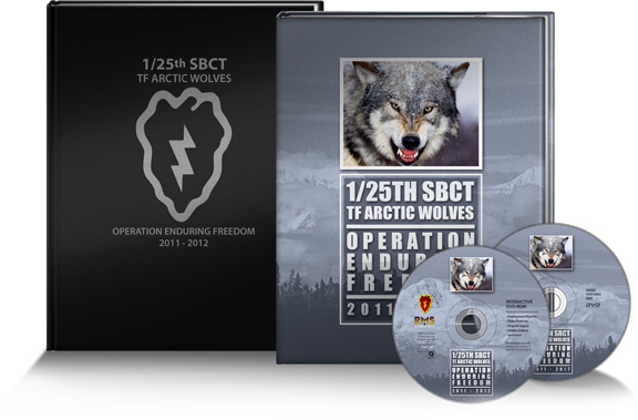1/25th Stryker Brigade Combat team historical commemorative package