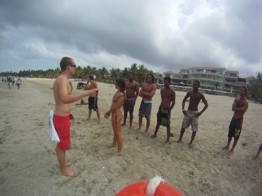 Training in DR