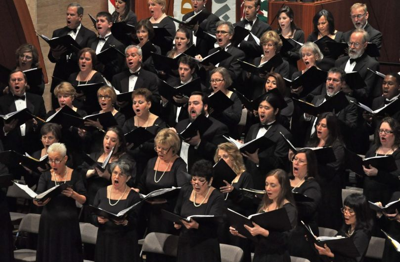 New Jersey Choral Society in concert