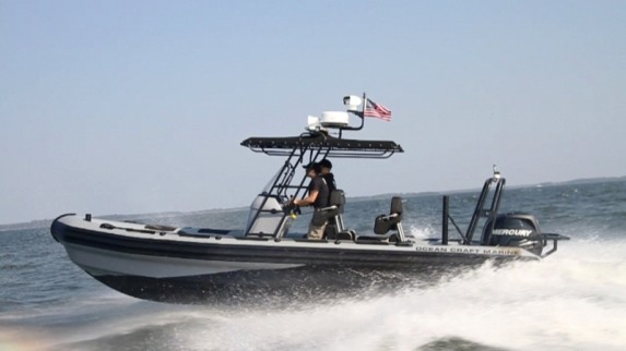 OCM Law Enforcement RHIB 8.0M