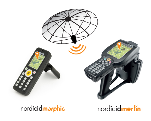 GPS available in Nordic ID mobile computers