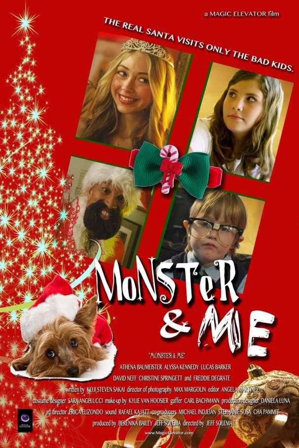 Monster & Me Poster